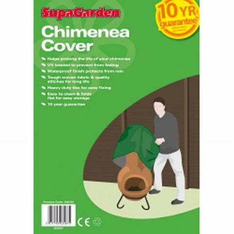 Garden Chimnea Cover- 10 Year Guarantee
